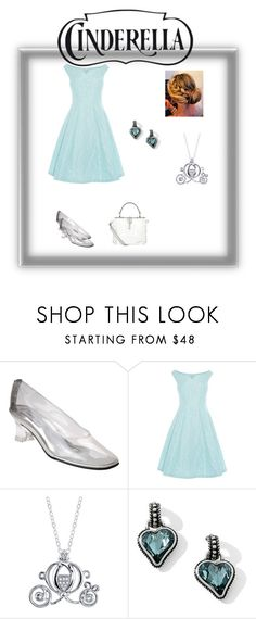 """Cinderella"" by purlientheneko on Polyvore featuring Touch Ups, Coast, Disney, Bibi and Dolce&Gabbana"