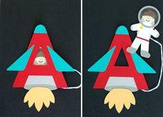 Imagini pentru letter A craft for kids