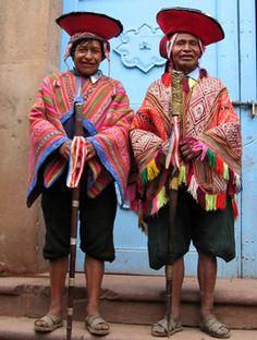 Dit is de kleding van mannelijke Inca's. De kleding van mannelijke Inca's is bijna hetzelfde als van vrouwelijke Inca's.