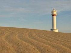 Playa La Punta de Lo Fangar- Delta de l'Ebre (Cataluña)