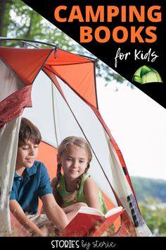 Whether you camp in the great outdoors or in a backyard tent, there are bound to be memories made. Here are some great camping books for kids. Be sure to grab a free camping craft and activities to pair with these books, too!