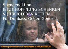 Spendenaktion: Leben retten im Donbass