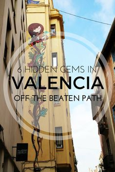 Experience a different side of Valencia! These hidden gems in Valencia will create unique memories to last a lifetime. Mykonos, Santorini, Europe Travel Tips, Spain Travel, Cinque Terre, Great Buildings And Structures, Modern Buildings, Modern Architecture, Valence