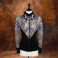 Other Rider Clothing 3167: Large Showmanship Pleasure Horsemanship Show Jacket Shirt Rodeo Queen Rail Top -> BUY IT NOW ONLY: $74.98 on eBay!