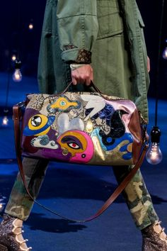 Marc Jacobs poured all his creativity into his SS17 show at NYFW, with accessories so trippy that we couldn't take our eyes off them. See the pieces here.