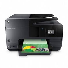 "HP OfficeJet 8600 Inkjet e-All-in-One Wireless Color Multifunction Two-Sided Printing Printer, Copier, Scanner & Fax Machine with Mobile Printing. Note: This is plain 8600 printer with one tray, NOT HP PRO 8600 printer with doulbe tray. All of the features and specifications except of tray are almost the same. Print ISO print speed: Up to 19 ppm black, 14.5 ppm color, Max print resolution: 4800 x 1200 dpi; Scan Optical resolution up to 1200 dpi; maximum scan size 8.5"" x 11"" flatbed, 8.5""…"