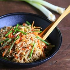 Cool Peanut Soba Noodles, Nice summer dish (Chinese)