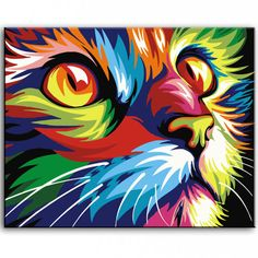 Oil-Painting-hand-painted-Oil-Painting-cat-on-Canvas-Abstract-Animal-Wall-Art-for-Home-Decoration.jpg (800×800)