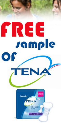 Request a #Free Sample Of TENA Today! #freebie #sample Free Samples, Tutorials, Teaching