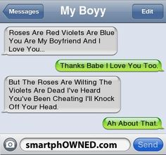 Best. Break up. Text. Ever.