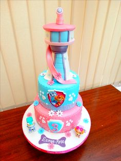 Girly Paw Patrol Cake xMCx