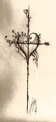This would be pretty in color too, but its great the way it is. If I were to get one, this is what Id get. cross tattoo