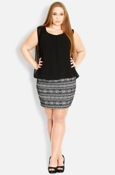 City Chic | Bandage Dress (Plus Size) #citychic #plussize #dress