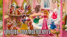 Cartoons for little girls, made by girls with stickers and licensesd props. Snow White and the Seven Dwarfs  (2014)