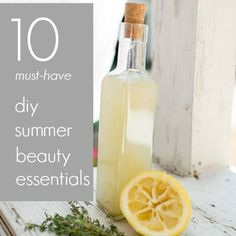 10 Must-Have DIY Summer Beauty Essentials  -Obsessed with diy masks and scrubs, the best and easiest way to pamper yourself when you're at home