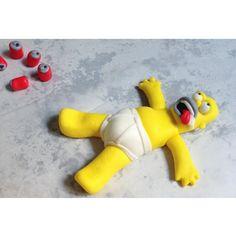 Simpsons Fondant Homer