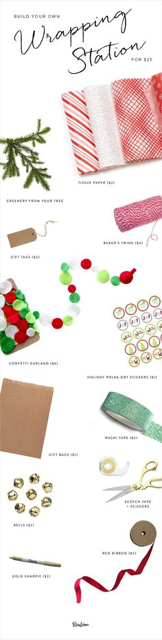 How to Wrap All Your Presents for Only $25. How to Wrap All Your Presents for Only $25. Fancy wrapping paper is to die for, but it can get pretty expensive fast. The solution? Swap the pricey rolls for cheap, sophisticated paper bags or kraft paper. Then go to town decorating with all the accoutrements.