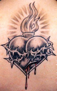 Heart Tattoos Broken Heart Tattoo Designs For Men Pzxg Tattoo Jesus Tattoo, Christ Tattoo, Broken Heart Tattoo, Sacred Heart Tattoos, New Tattoos, Tattoos For Guys, Tattoos Pics, Girly Tattoos, Tatoos