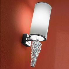 Axo Light Sub Zero Wall Sconce Shade Color: White Lighting Inc, Custom Lighting, Wall Sconce Lighting, Chandelier Lighting, Wall Sconces, Lighting Ideas, Drum Shade, Lamp Design