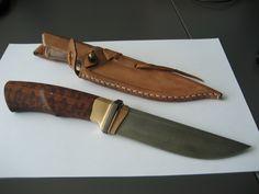 Knife by Tõnu Arrak