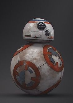 BB8 from Star Wars - The Force Awakens--This robot is inspired by Orbotixs…