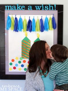 Simple Birthday Party Photo Backdrop