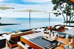A restaurant with the best view . . . . . . . . . . . . . . #boutiquehotel #uvita #costarica #bbctravel #worldtravelpics #travelingpost #hotelgoals #travelgram #travelerschoice #luxuryworldtraveler