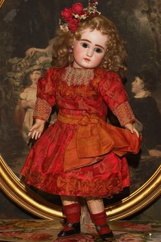 We have always enjoyed the individuality and romance of Estate Dolls preserved…