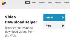 Download helper. Un extension ultra pratique pour télécharger toutes les vidéos depuis le web. #tice