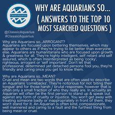 WHY ARE AQUARIANS SO... (Answering the top 10 Google questions). #ClassicAquarius #Aquarian #Aquarius