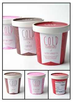 60 Deliciously Creative Ice Cream Packaging Designs