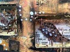 cabinet of curiosities - altered book