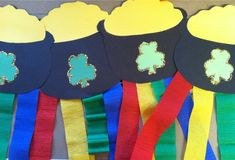 "St. Patrick's Day Craft -- to go with ""If I found a pot of gold..."" prompt"