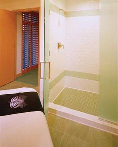 Marble floor for bath and massage area