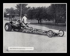 Don Garlits Rear Engine Dragster, 1974