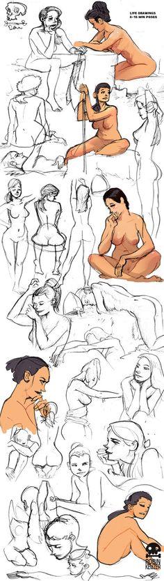 Live Drawing Sketches by RobinKeijzer on DeviantArt
