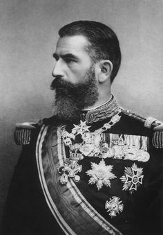 beardsofmen: beardbriarandrose: King Carol I of Romania (other vintage beards)