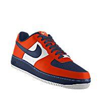 I designed the orange, dark blue and white Illinois Fighting Illini Nike Air Force 1 Low iD women's shoe.