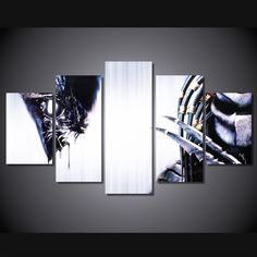Own this amazing Alien and Predator movie wall canvas today we will ship the canvas for free. This is the perfect centerpiece for your home. It is easy to assemble and hang the panels together which makes this a great gift for your loved ones.  This painting is printed not handpainted and is ready to hang! We have 1 options for this canvas -- Size 1: (20x35cmx2pcs, 20x45cmx2pcs, 20x55cmx1pc) Limited quantities left. www.octotreasures.com