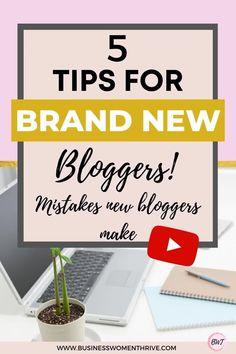 Make Money Blogging, How To Make Money, Blogger Help, Best Short Stories, Blog Names, Tips Online, Blogging For Beginners, Blog Tips, Mistakes