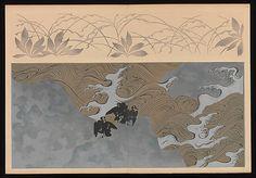 Kôrin-style Patterns (Kôrin moyô)