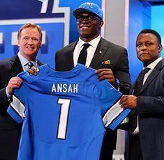 nfl Detroit Lions Ezekiel Ansah LIMITED Jerseys