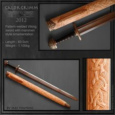 Awesome scabbard decoration!!!