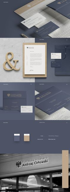 Branding, Visual Identity & Website Design for Law Firm