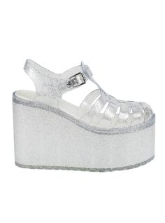 Don't even care if summer is almost over! UNIF   HELLA JELLY PLATFORMS