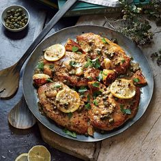 Cooking Light Charred Lemon Chicken Piccata