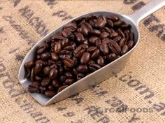 Pure Kenyan Coffee Beans from Real Foods Buy Bulk Wholesale Online Coffee Logo, Coffee Type, Food Packaging Materials, Coffee Island, Whole Food Recipes, Dog Food Recipes, Coffee Shop Names, Kenyan Coffee, Wholesale Coffee