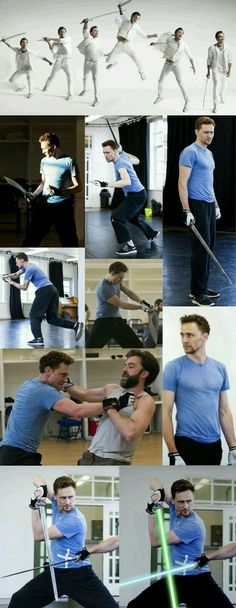 BTS Thor3 im guessing cos thats a hairy Zachary Levi OMG HE LOOKS SO COOL!