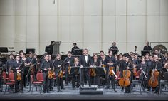 Concierto 10: Bizet - Shchedrin / Shostakovich. Orquesta Sinfónica de Chile. Foto de Patricio Melo