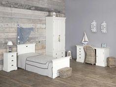 slaapkamer steigerhout behang - Google zoeken